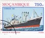 Stamps Mozambique -  PEMBA -BARCO DE MOZAMBIQUE