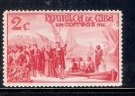 Stamps : America : Cuba :  Desembarco de Cristóbal Colón