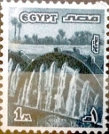 Stamps : Africa : Egypt :  1 miles. 1978