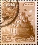 Stamps : Africa : Egypt :  5 miles. 1978