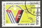 Sellos de America - Cuba -  2478 - XXV anivº del derrocamiento de la tirania, Batalla de El Jigue