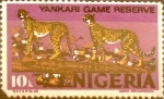 Stamps : Africa : Nigeria :  Intercambio 0,20 usd 10 kobo 1963