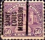 Sellos de America - Estados Unidos -  Intercambio 0,40 usd 50 cents. 1922