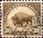 Stamps United States -  Intercambio 0,60 usd 30 cents. 1922