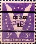 Sellos de America - Estados Unidos -  Intercambio 0,20 usd 3 cents. 1942