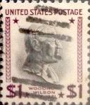 Sellos de America - Estados Unidos -  Intercambio 0,20 usd 1 dólar 1938