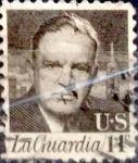 Sellos de America - Estados Unidos -  Intercambio 0,20 usd 14 cents. 1972