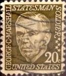 Sellos de America - Estados Unidos -  Intercambio 0,20 usd 20 cents. 1967