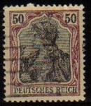 Stamps Europe - Germany -  DEUTSCHES REICH 1902 Scott73 Sello Victimas de la Guerra Alemania Usado