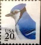 Stamps : America : United_States :  20 cents. 1996