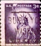 Stamps United States -  Intercambio 0,20 usd 3 cents. 1954