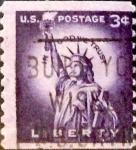 Sellos de America - Estados Unidos -  Intercambio 0,20 usd 3 cents. 1954