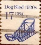Sellos de America - Estados Unidos -  Intercambio 0,20 usd 17 cents. 1986