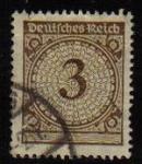sellos de Europa - Alemania -  DEUTSCHES REICH 1923 Scott323  Sello Serie Básica Números Alemania