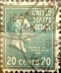 Sellos de America - Estados Unidos -  Intercambio 0,20 usd 20 cents. 1938