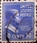 Sellos de America - Estados Unidos -  Intercambio 0,20 usd 30 cents. 1938