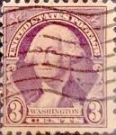 Sellos de America - Estados Unidos -  Intercambio 0,20 usd 3 cents. 1932