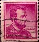 Stamps United States -  Intercambio 0,20 usd 4 cents. 1958