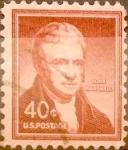 Sellos de America - Estados Unidos -  Intercambio 0,20 usd 40 cents. 1955