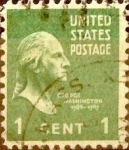 Stamps United States -  Intercambio 0,20 usd 1 cents. 1938