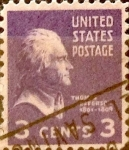 Sellos de America - Estados Unidos -  Intercambio 0,20 usd 3 cents. 1938