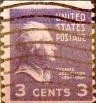 Sellos de America - Estados Unidos -  Intercambio 0,20 usd 3 cents. 1939