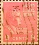 Sellos de America - Estados Unidos -  Intercambio 0,20 usd 9 cents. 1938