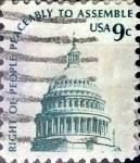 Sellos de America - Estados Unidos -  Intercambio 0,20 usd 9 cents. 1975
