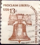 Stamps United States -  Intercambio 0,20 usd 13 cents. 1975