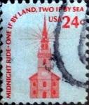 Sellos de America - Estados Unidos -  Intercambio 0,20 usd 24 cents. 1975