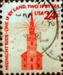 Sellos del Mundo : America : Estados_Unidos :  Intercambio hbr 0,20 usd 24 cents. 1975