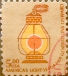 Stamps United States -  Intercambio 1,75 usd 5 dólares 1979