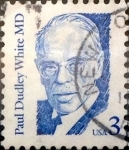 Stamps United States -  Intercambio 0,20 usd 3 cents. 1986