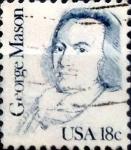 Sellos de America - Estados Unidos -  Intercambio 0,20 usd 18 cents. 1981