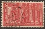 Sellos de Europa - España -  ESPAÑA SEGUNDO CENTENARIO USD Nº 1252 (0) 1P ROJO GUADALUPE