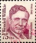 Sellos de America - Estados Unidos -  Intercambio 0,20 usd 75 cents. 1992