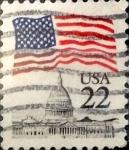 Sellos de America - Estados Unidos -  Intercambio 0,20 usd 22  cents. 1985