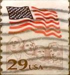 Sellos de America - Estados Unidos -  Intercambio 0,20 usd 29  cents. 1991