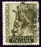 Sellos de Europa - Italia -  Exposicion de Agricultura en Roma