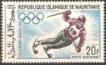 Stamps Mauritania -  JUEGOS  OLÌMPICOS,  MEXICO  1968.  COMPETENCIA  EN  ESQUÌ.