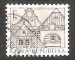 Stamps : Europe : Czech_Republic :  Puertas y entradas a casas