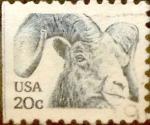 Sellos de America - Estados Unidos -  Intercambio 0,20 usd 20  cents. 1982