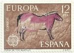 Stamps of the world : Spain :  EUROPA CEPT 1975. CUEVA DE TITO BUSTILLO. EDIFIL 2260