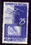 Stamps Italy -  Puesta en servicio de la television