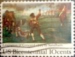 Sellos del Mundo : America : Estados_Unidos : Intercambio js 0,20 usd 10 cents. 1975