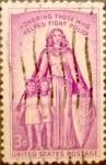 Sellos de America - Estados Unidos -  Intercambio 0,20 usd 3 cents. 1957