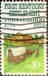 Sellos de America - Estados Unidos -  Intercambio cxrf2 0,20 usd 10 cents. 1974