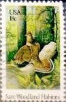 Sellos de America - Estados Unidos -  Intercambio jlm 0,20 usd 18 cents. 1981