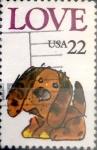 Sellos de America - Estados Unidos -  Intercambio 0,20 usd 22 cents. 1986