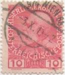Sellos de Europa - Austria -  Y & T Nº 106 (I)